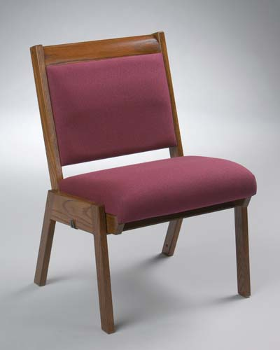 No. 87 Wood Chair with 3 inch caprail