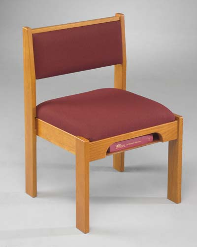 T041 Wood Frame Stacking Chair