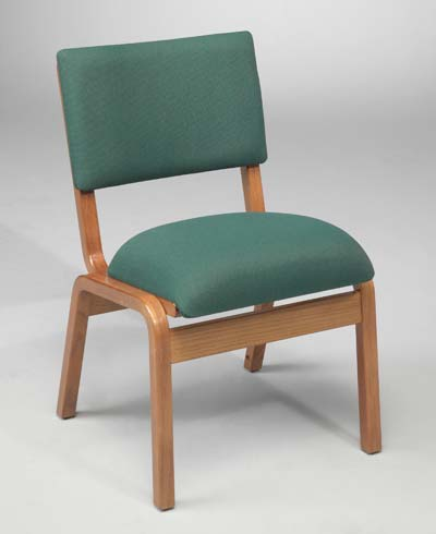T300 Wood Frame Stacking Chair