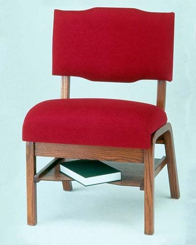 T350B Wood Frame Worship Chair