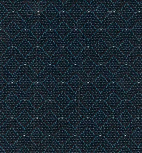 Stock blue fabric for no. 65 series metal frame chairs