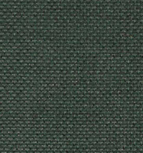 Stock green fabric for no. 65 series metal frame chairs