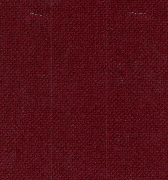 Stock maroon fabric for no. 65 series metal frame chairs