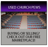 Church Pews And Furniture By Imperial Woodworks Inc