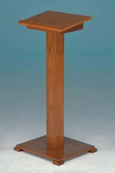 Registry stands commonly used in funeral home chapels and vestibules