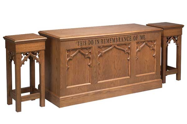 No. 200 Flower Stands & Communion Table