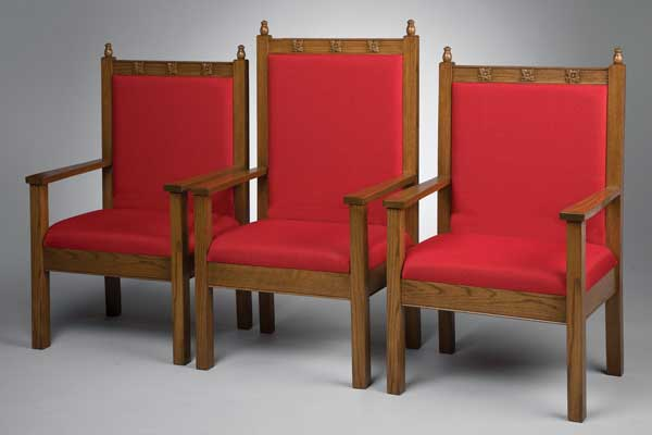 No. 200 Series Platform Chairs - Set of 3 Chairs