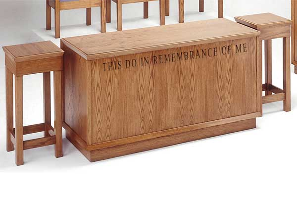 No. 400 Flower Stands & Communion Table