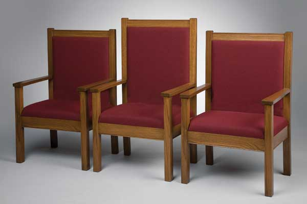 No. 400 Series Platform Chairs - Set of 3 Chairs