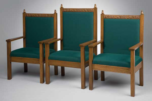No. 500 Series Platform Chairs - Set of 3 Chairs