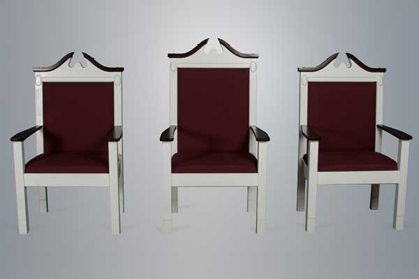 No. 8200 Series Pulpit Chairs