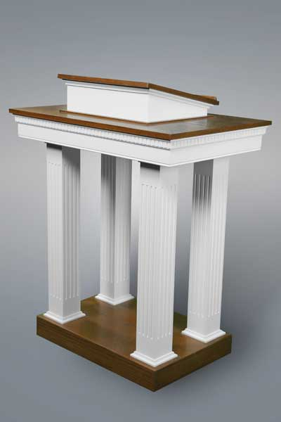 No. 8401 Pulpit Two Tone