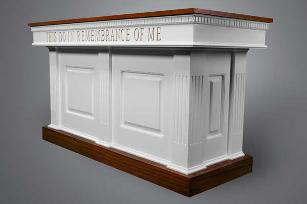 No. 8420 Communion Table Two Tone
