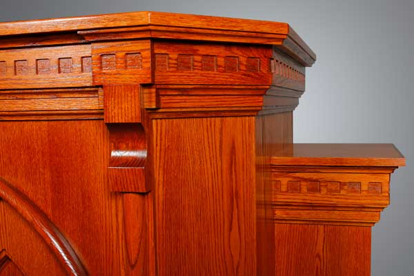 No. 900W-2 Pulpit Detail