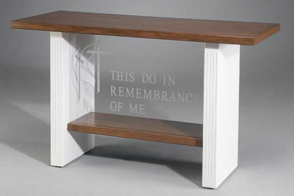 Communion Tables Imperial Woodworks Inc Pews Com