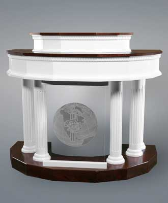 Custom Pulpit 5 - Imperial Woodworks, Inc.