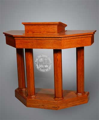 Custom Pulpit 6 - Imperial Woodworks, Inc.