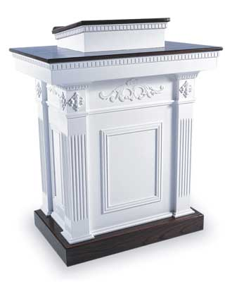 TSP-620 Colonial Style Pedestal Church Pulpit
