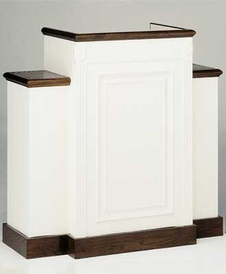 TWP-605 Colonial Style Church Pulpit