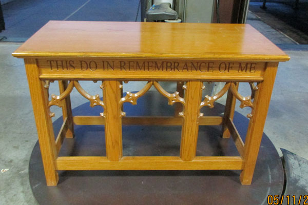 In-Stock - 205 Open Communion Table
