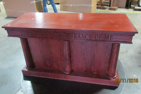 In-Stock - 8300 Closed Communion Table