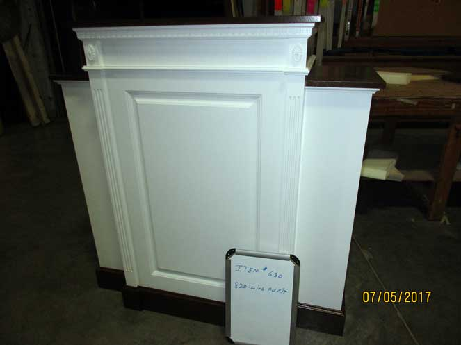 820W Wing Pulpit