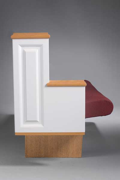 Cantilever Pew End C3171COL