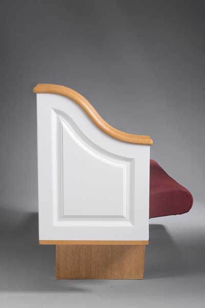 Cantilever Pew End C3371 COL