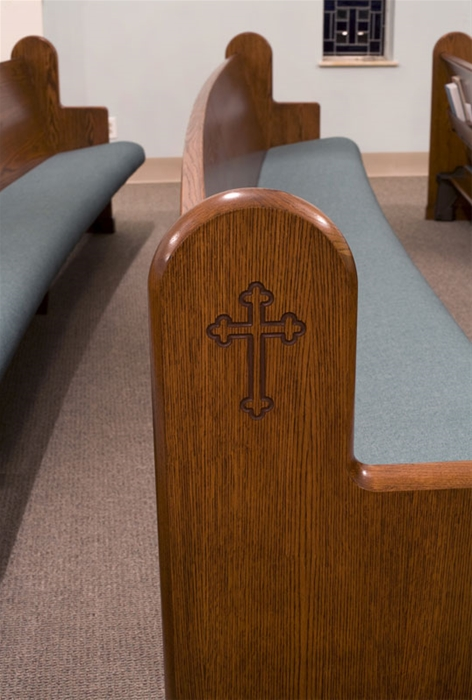church bench, church benches